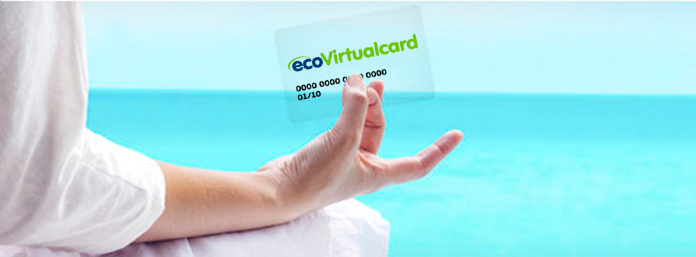 Get extra security when paying online with a payment card ecoVirtualcard